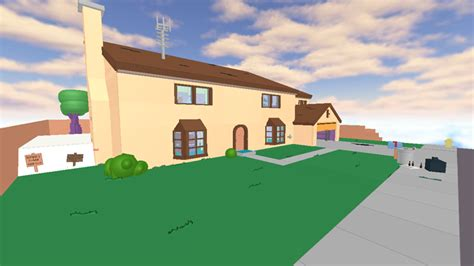 the simpsons house on roblox roblox