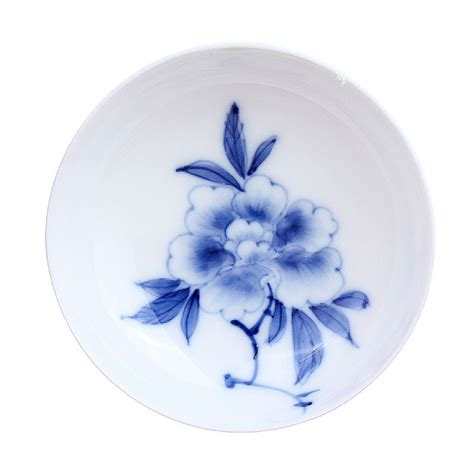 blue and white porcelain blue and white porcelain cup peony esgreen esgreen enjoy