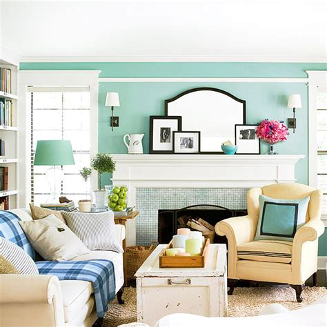 Aqua Green Living Room by Modern Furniture Colorful Living Rooms Decorating Ideas 2012