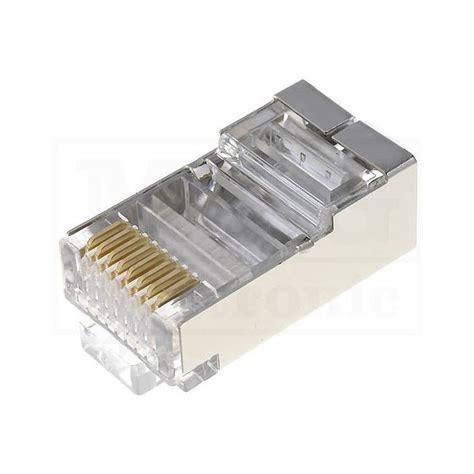 Konektor Rj45 Cat5e m g electronic konektor rj45 ftp stp oklopljen cat 5e