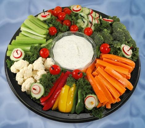 maxy s hideout vegetable trays fruit salad