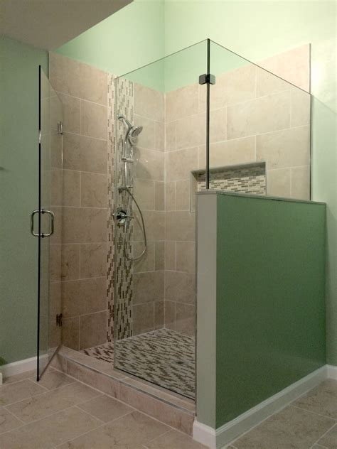 Corner Glass Shower Doors Frameless by Frameless Corner Shower Enclosures