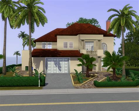 Bedroom Decorating Ideas Pictures modern sims 3 beach house plans all about house design