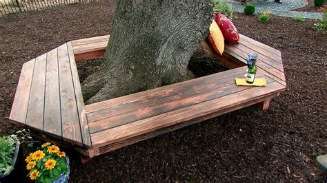 diy tree bench how to build a bench around the tree in your yard page 2