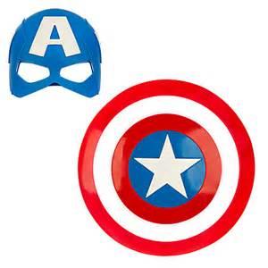 captain america mask amp shield set disney store