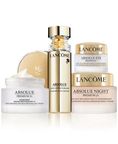 Lancome Absolue Premium lanc 244 me absolue premium bx skincare collection skin care