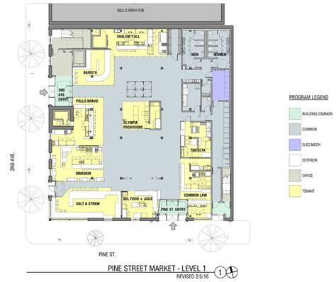 market floor plan floor plan pine market