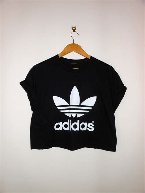 Fresh Crop Tshirt classic back adidas swag style crop top tshirt fresh
