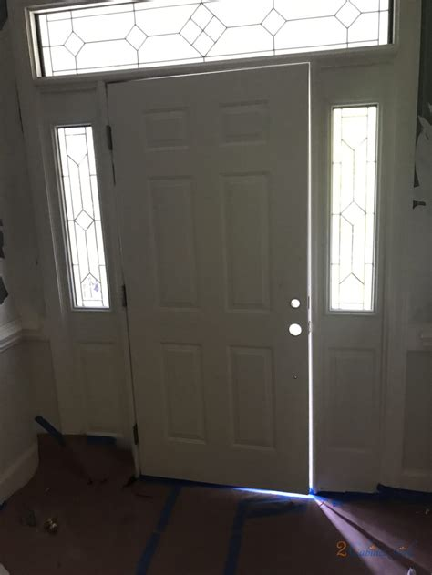 Mallard Green Front Door   2 Cabinet Girls