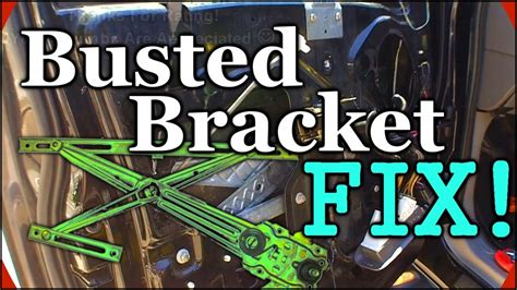 How To Fix Broken Glass fixing a broken window track 1999 ford expedition