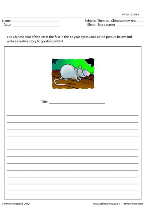 new year writing ks1 creative writing exercise new year year of the rat