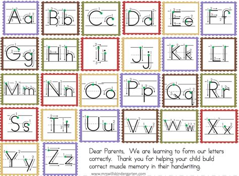 free letter formation worksheets free letter formation chart for writing center preschool