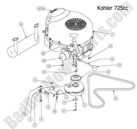 kohler engine parts diagram kohler courage xt 6 parts diagram kohler free engine