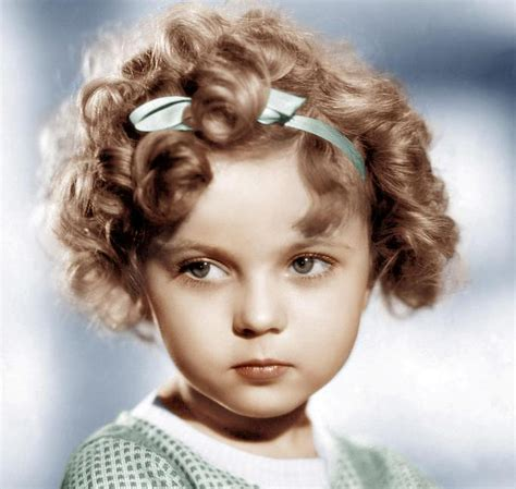 Shirley Temple Hairstyle shirley temple curls hairstyles pin by a m y pierson