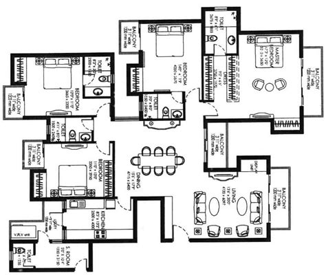 large house plans big house floor plan escortsea