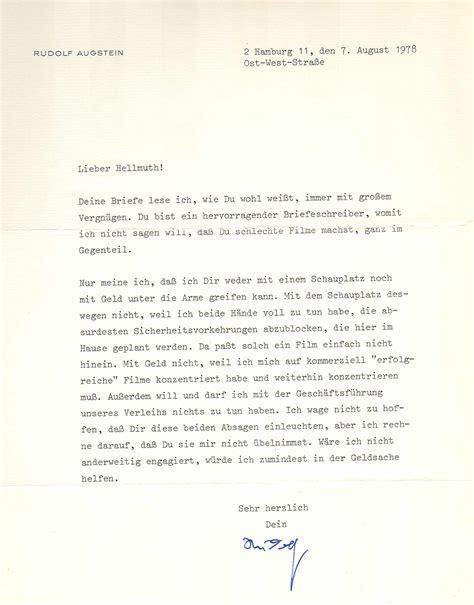 Brief Schreiben Muster Privat Kurs 6 Praktisches Beispiel Einer Nachlassbearbeitung Hellmuth Costard