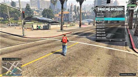 mod gta 5 download pc gta v online pc 1 42 mod menu new stealth money hack