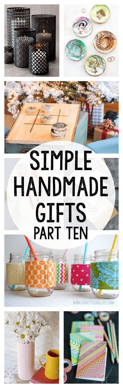 Handmade Simple Gifts - simple handmade gifts part 10 one thing by jillee