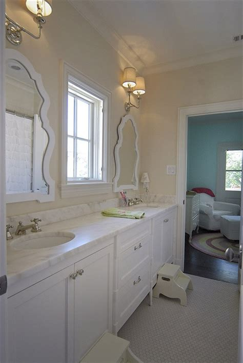 homes with jack and jill bathroom 1000 ideas about white mirror on pinterest large white