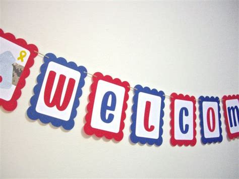 17 best ideas about welcome home banners on
