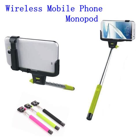 Wireless Mobile Phone Monopod Z07 5 new z07 5 2 in 1 wireless bluetooth mobile phone monopod selfie stick tripod handheld monopod