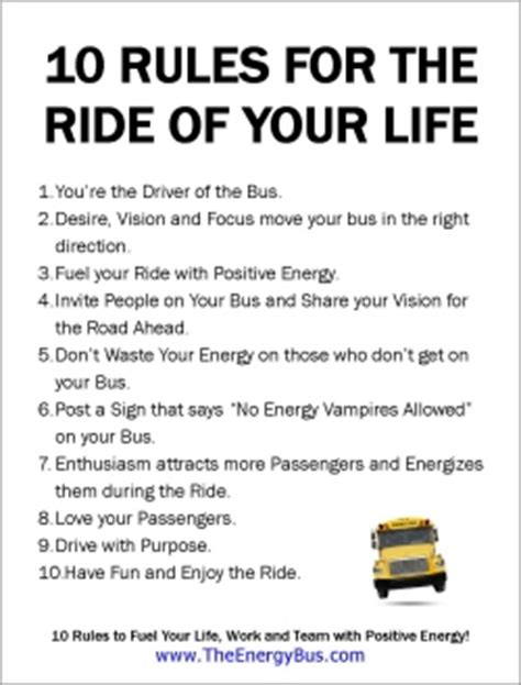 the energy bus 10 kuweight 64 the energy bus ten rules for the ride of your life