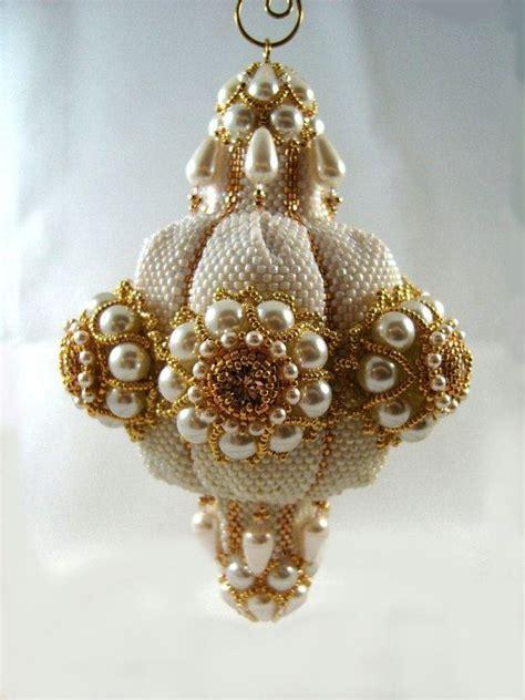 beaded ornaments pattern tutorial beaded ornament