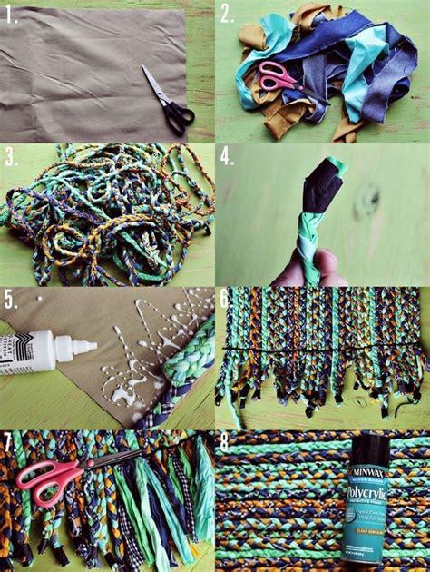 diy braided rug tutorial no sew braided rug tutorial craft ideas