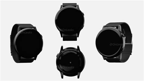 renders of samsung s next smartwatch appears to be missing