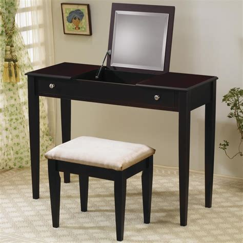 Flip Top Vanity Table Vanities Contemporary Flip Top Vanity And Stool With Fabric Seat Lowest Price Sofa Sectional