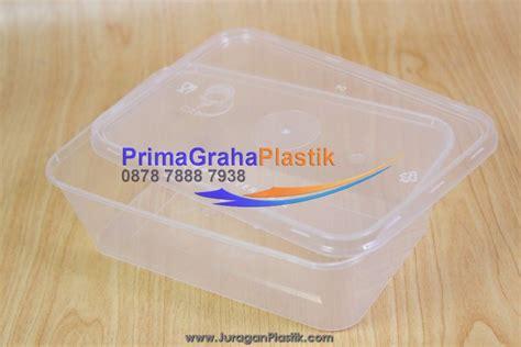 Freezer Kotak kotak plastik makanan crp 650 ml home