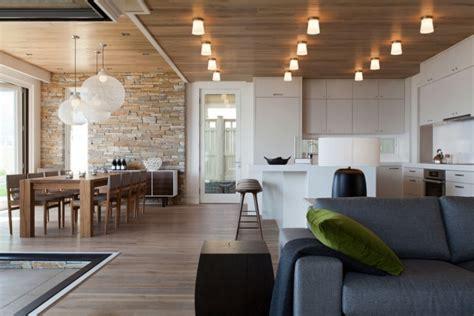 modern house interior dining room green photo granite sets offene k 252 che mit wohnzimmer pro contra und 50 ideen