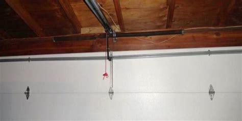 Garage Door Brace by Garage Door Has Damaged Horizontal Brace Due To Garage