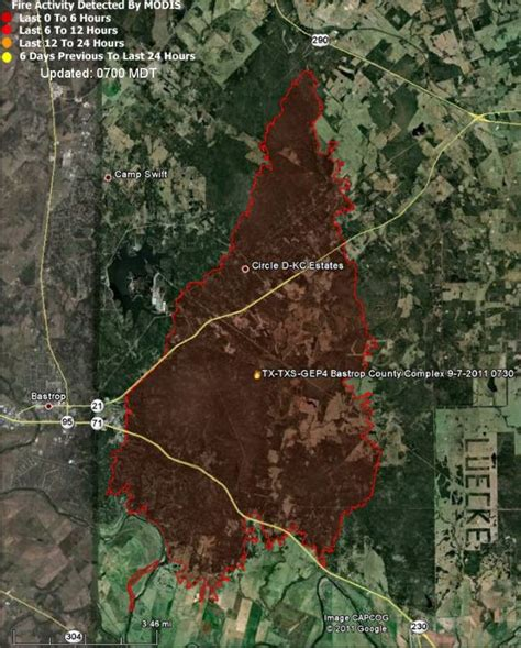 texas wildfire map bastrop in texas updated maps 1 386 homes destroyed wildfire today