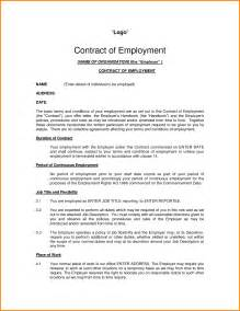 example of contract employment contract sample 319 png