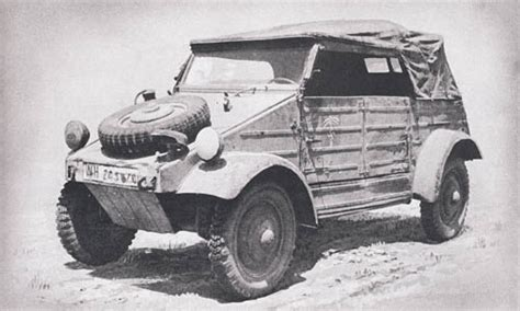 German Jeep Kubelwagen 171 Catalog Of Enemy Ordnance