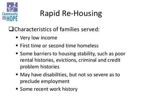 rapid re housing dc solutions to family homelessness