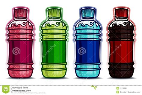 A Drink In A Bottle And Flvored 1 Hour Detox by Pet Bottle Drinks Flavors Stock Image Image 29116631