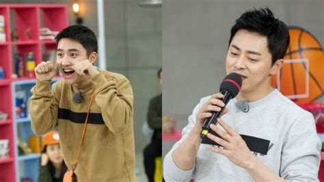 exo running man exo s d o and jo jung suk to sing dance and more on
