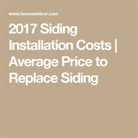 cost of replacing siding on house best 20 siding installation ideas on pinterest