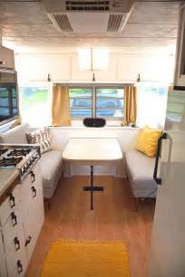 camper renovations vintage camper turned glamper diy renovation