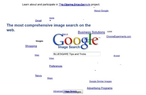 google images tricks google sphere funny trick bluesqare tips