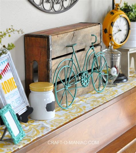 home decor with whimsical bicycle s