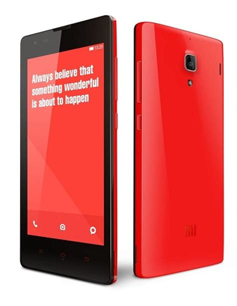 Hp Bekas Xiaomi Redmi 1s xiaomi redmi 1s launched in india with 4 7 inch hd display