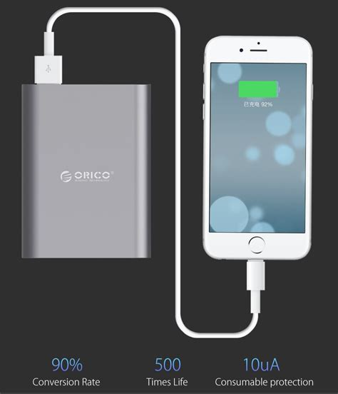 Orico Power Bank 10400mah Qc 2 0 Q1 1 orico power bank 10400mah qc 2 0 q1 black jakartanotebook