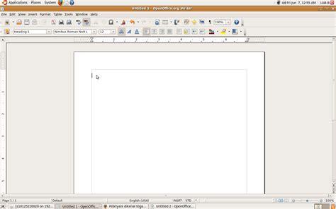 cara membuat nomor halaman kosong cara membuat nomor halaman di word processor primaya