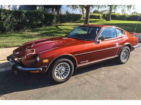 1974 nissan 260z 1974 datsun 260z for sale classiccars com cc 887234