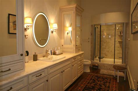 classic cupboards bathroom design