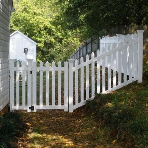 picket fence sections springfield picket fence vinyl picket fence factory