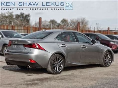 used lexus is 250 f sport 2014 lexus is 250 f sport prem nav toronto